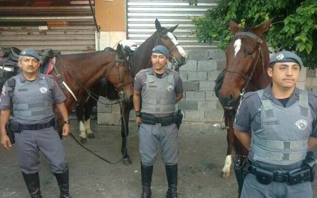 Sgt Azevedo, Sd Nagatami e Sd Trajano