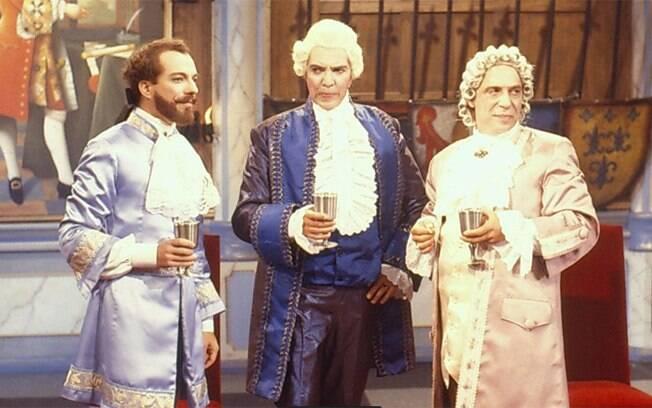 Carlos Augusto Strazzer, John Herbert e Laerte Morrone: três grandes atores, já falecidos, hilários como os conselheiros de Avilan