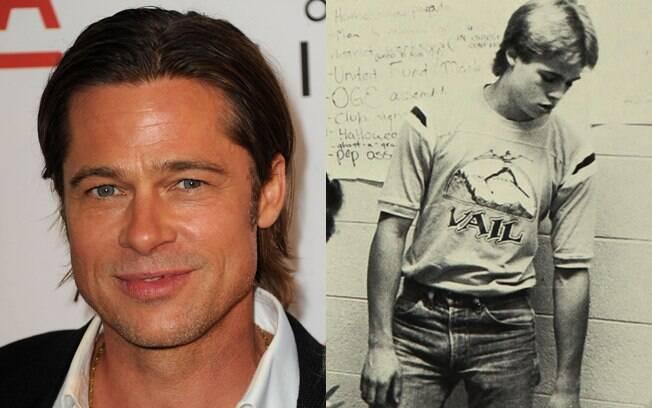 Não eram só os Simpson que roubavam as atenções de Springfield, em Missouri. Brad Pitt, em 1982, passou pela Kickapoo High School, e já era promessa do eterno galã