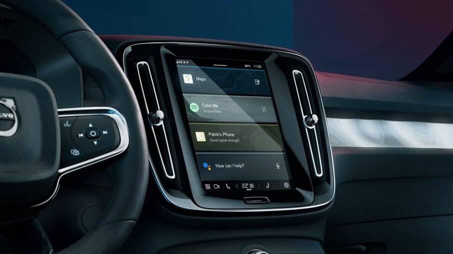 Nova central multimídia da Volvo estará em outros veículos do grupo Geely