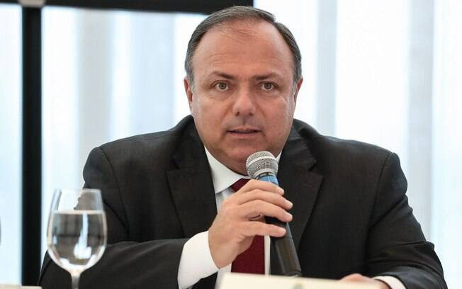 Ministro da Saúde Eduardo Pazuello