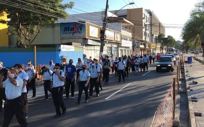 Cobradores pedem retorno ao trabalho em Vitória