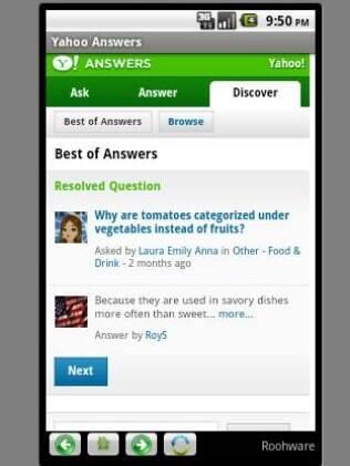 Aplicativo Yahoo Answers, para Android, está entre os cancelados