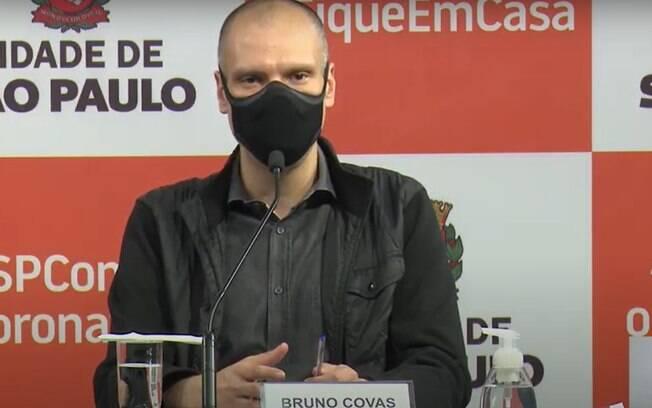 Bruno Covas, atual prefeito de São Paulo.