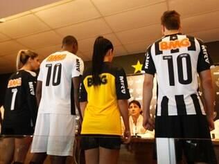 Esportes-Belo Horizonte_MG- CAMISA GALO Lancamento da nova camisa do Galo patrocinado pela Puma Foto: GUSTAVO BAXTER / O TEMPO- 17.03.2014