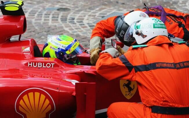 Massa passou por exames depois o treino e foi  liberado para a corrida de domingo