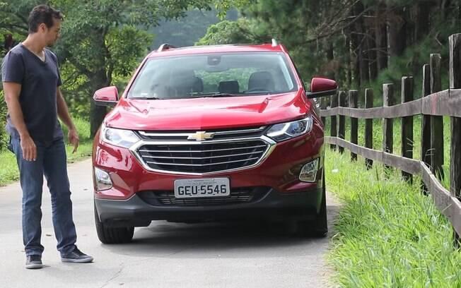 Chevrolet Equinox: O SUV tem muito a oferecer, como o motor 2.0 turbo, de 262 cv, vindo do Camaro americano