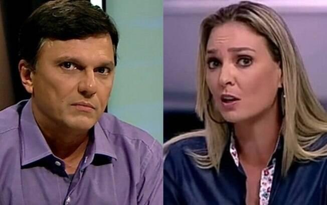 Mauro Cezar e Nadine Bastos