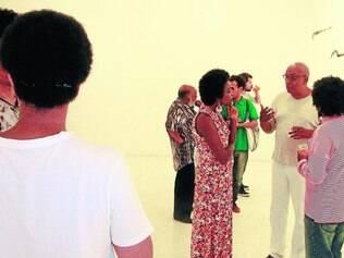 Convivência.  Ao acentuar a própria frequência a espaços artísticos, criadores negros chamam atenção à diversidade cultural brasileira