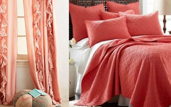 O quarto ganha vida ao adotar peças com a cor do ano; confira algumas ideias que podem ajudar a decorar o cômodo