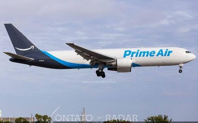 Amazon Prime Air adquire 11 Boeing 767 para atender a demanda do e-commerce