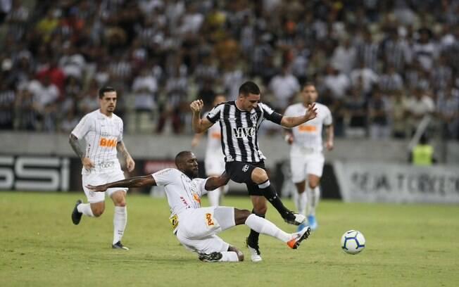 Ceará e Corinthians duelaram na Arena Castelão, em Fortaleza
