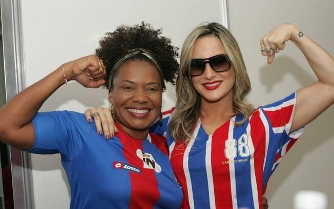 Torcedoras do Bahia, Margareth Menezes e Claudia Leitte farão parte da festa que marca a reinauguração da Fonte Nova