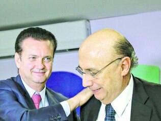 Costura. Kassab e Henrique Meirelles , que é especulado como pré-candidato a vice na chapa de Aécio