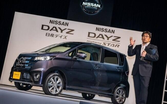 A Mitsubishi fabrica o kei-car Dayz para a Nissan.