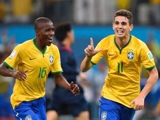 Brasil derrota a Croácia por 3 a 1, de virada, no Itaquerão. Foto: Douglas Magno / O TempoFoto: Douglas Magno / O Tempo