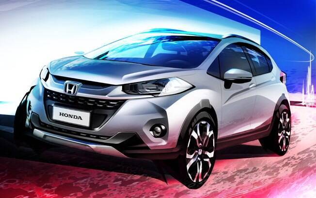 Baseado no Honda Fit, o WR-V será o utilitário de entrada da marca, com preços a partir de R$ 70 mil.