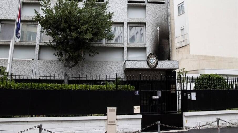 Embaixada de Cuba foi alvo de ataque em Paris