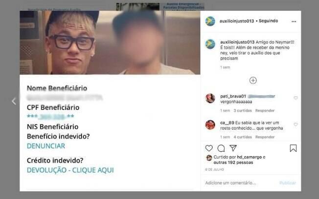Perfil expõe pessoas de classe alta de Santos (SP) que recebem auxílio emergencial