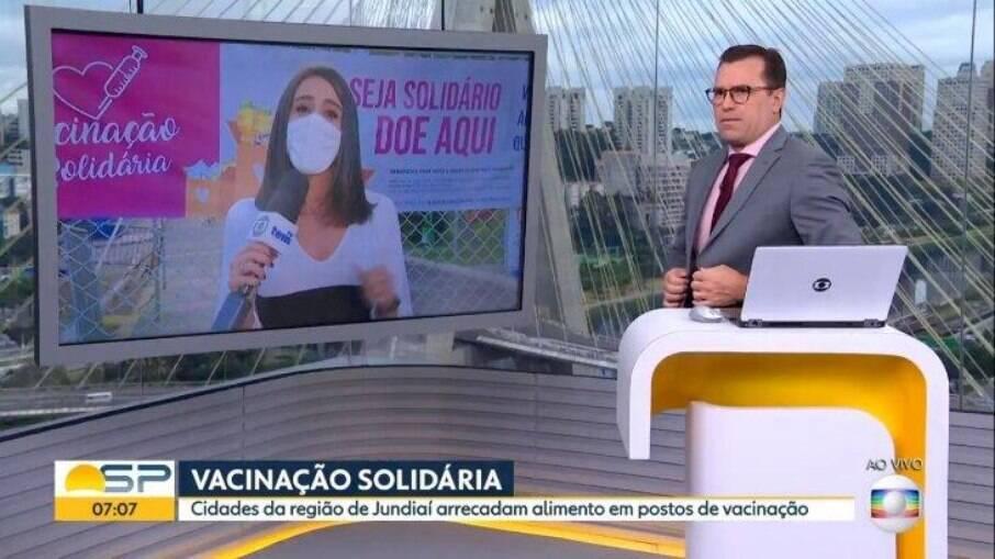 Rodrigo Bocardi se posiciona contra o ataque no