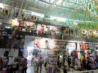 Mercado Central manteve preços durante a Copa e vem tendo boa movimentação