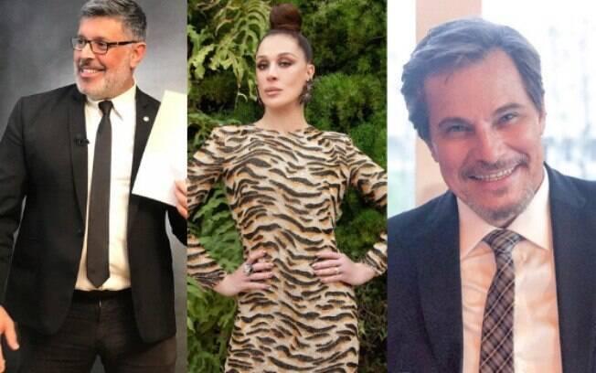 Claudia Raia x Alexandre Frota x Edson Celulari