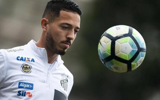 Jean Mota, jogador do Santos