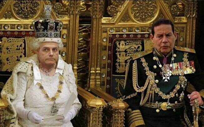Bolsonaro foi transformado em 'rainha da Inglaterra' após declaração