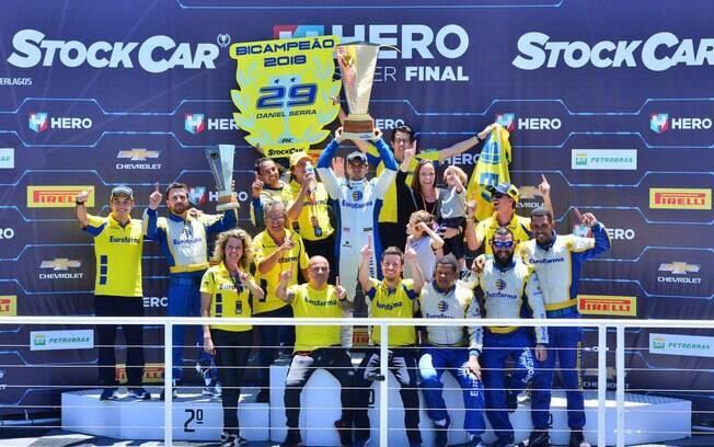 Eurofarma RC, a campeã entre as equipes da Stock Car 2018