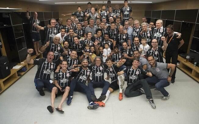 Corinthians venceu o Brasileirão em 2017