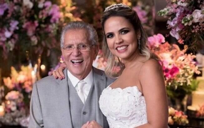 Humorista se casou na última quinta-feira (24)