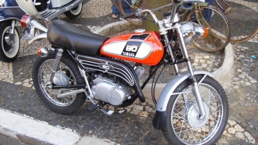 A Mini Enduro mais popular, a Yamaha GT-80, tinha o mesmo motor da nossa Yamaha Carona