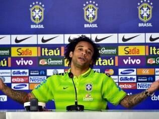 Para Marcelo, foco dos jogadores da seleção brasileira deve estar apenas no futebol
