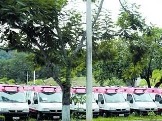 Sem uso. Ambulâncias foram adquiridas para a Copa do Mundo e ficaram encostadas após o Mundial