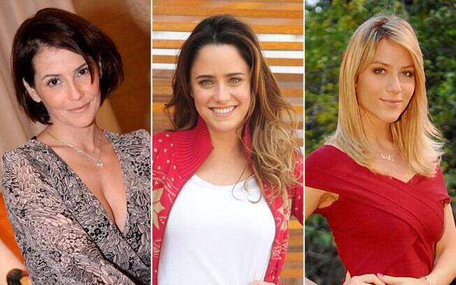 Algumas das belas clientes de Proença: Deborah, Fernanda e Giovanna Ewbank
