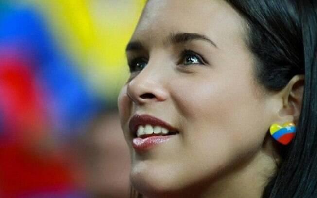 Esgrimista Alejandra Benítez, a nova Ministra  do Esporte na Venezuela