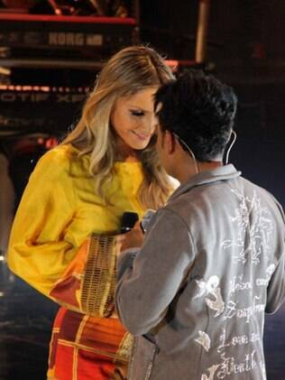 Claudia Leitte grava DVD com Pablo, do Arrocha