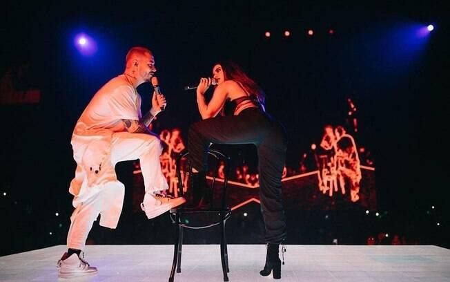 Anitta se apresentando em Miami, nos Estados Unidos