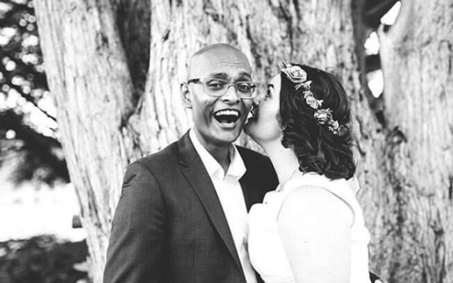Noivos Natasha e Pulindu planejaram um casamento que deu tão certo que, agora, formaram uma empresa de eventos