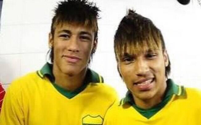 Neymar e Gabriel Lucas