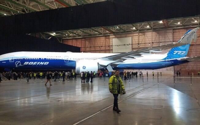 Primeiro Boeing 777X só será entregue no fim de 2023
