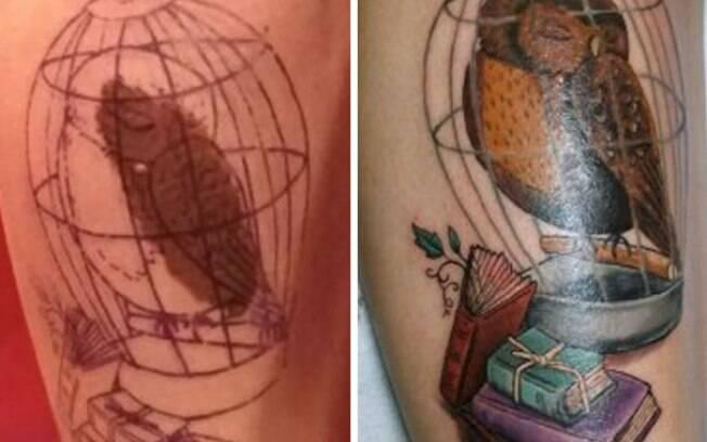 A literatura inspira! Já pensou em tatuar seu personagem preferido