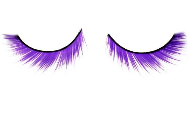 Eyelashes High Impact na cor roxa