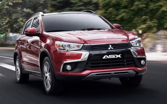 Mitsubishi ASX mantém o mesmo visual de sempre, mas agora vem com motor 2.0 flex e apenas câmbio automático CVT