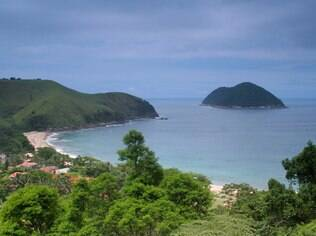 Praia de Toque Toque Grande, em São Sebastião