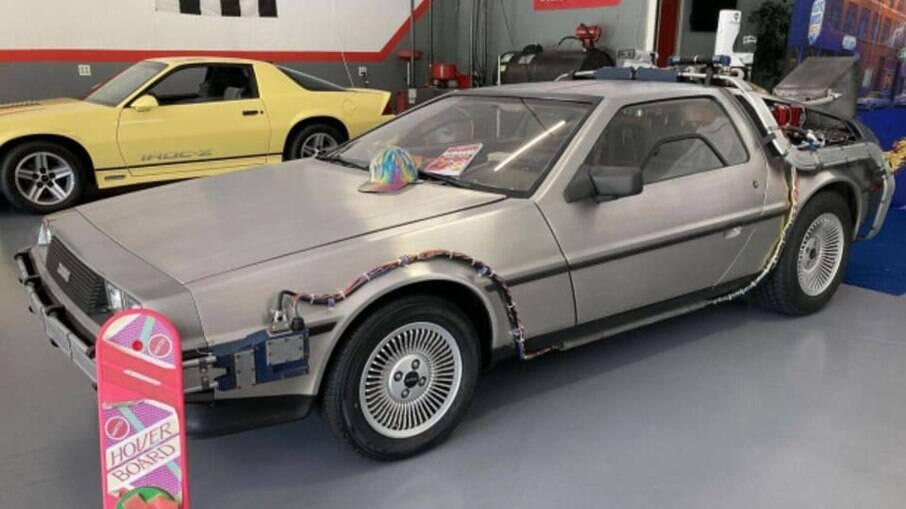 DMC De Lorean do filme 'De Volta para o Futuro' tem assinatura de Giorgetto Giugiaro e tem motor V6 da Volvo