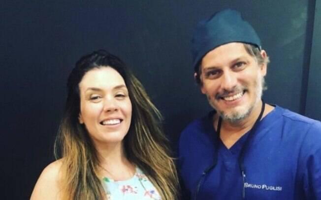 Cantora Simony passou pelo tratamento com a lente de contato dental