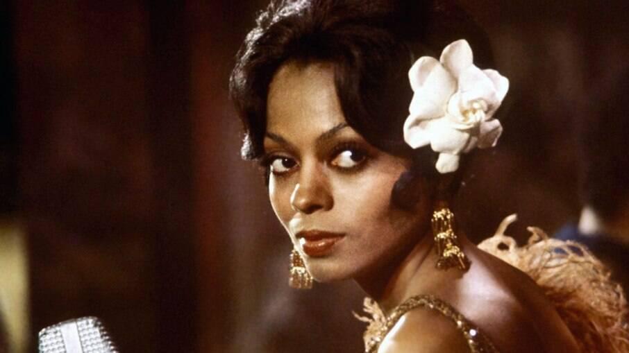 A cantora Diana Ross viveu Billie Holiday em cinebiografia baseada em escritos da própria cantora