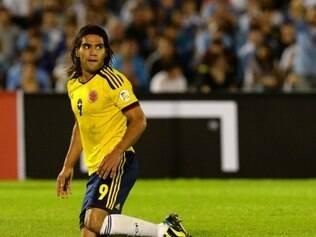 Atacante colombiano lutou, mas está fora da Copa do Mundo