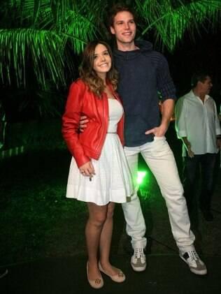 Giovanna Lancellotti e Jonatas Faro
